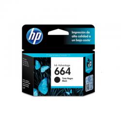 Tinta HP 664 Black 120 F6V29AL