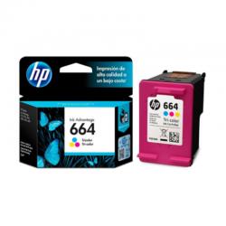Tinta HP 664 Color F6V28AL