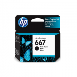 Tinta HP 667 3YM79AL Black