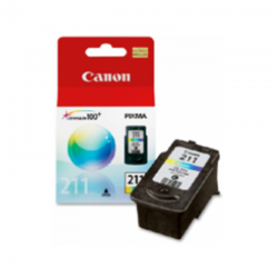 Tinta Canon CL211 Color...