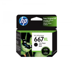Cartucho de Tinta HP 667XL...