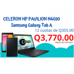 Celeron HP pavilion N4020...